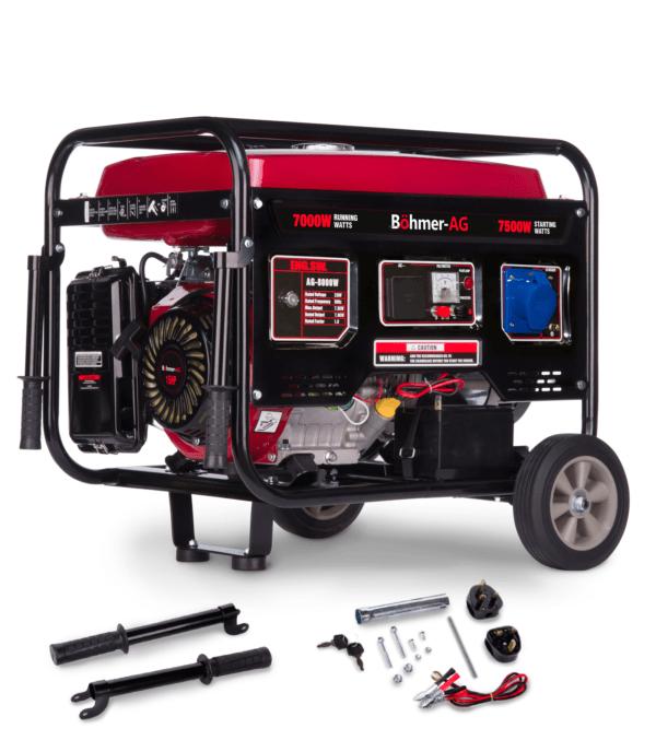 Böhmer-AG  8000-W features
