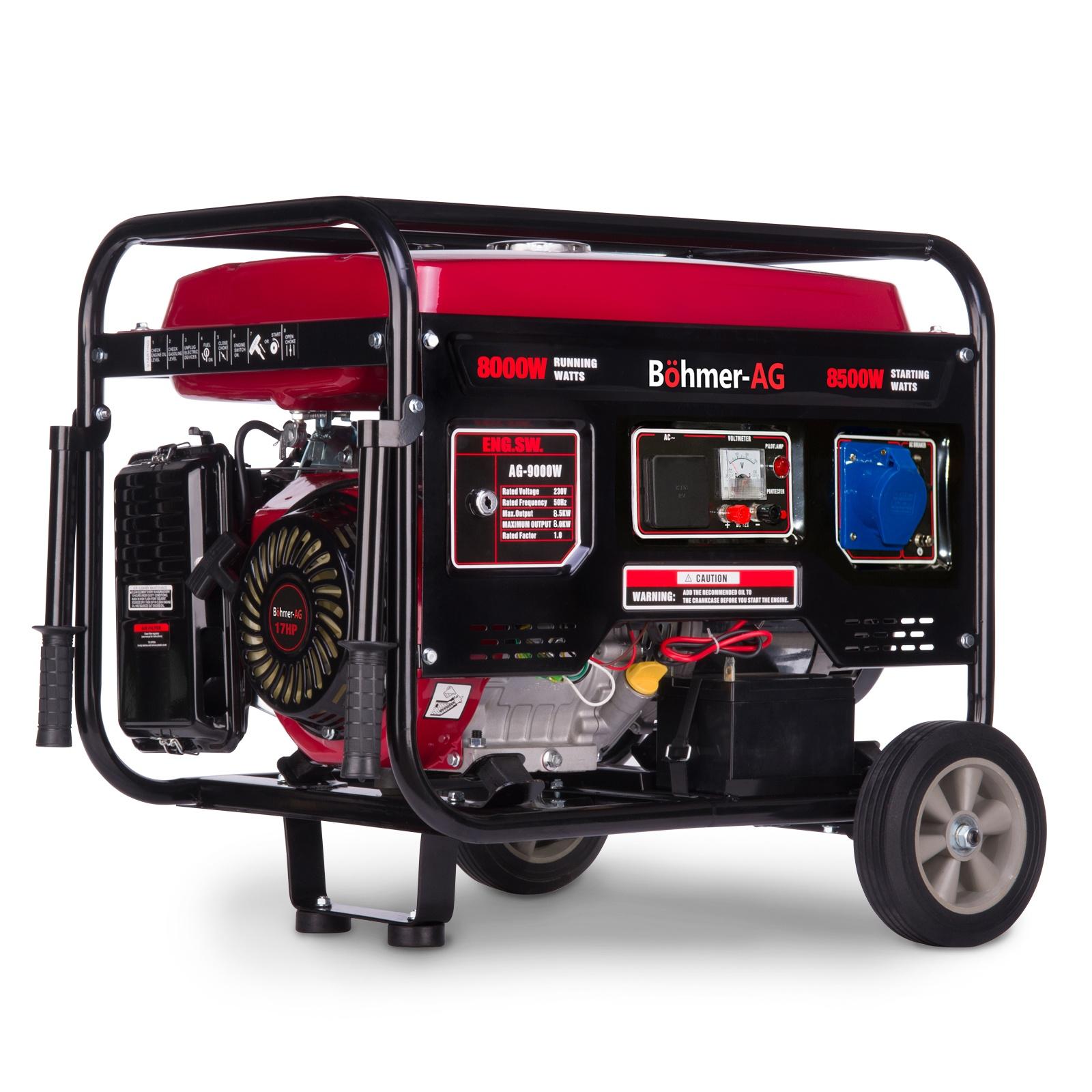 Böhmer-AG  9000-W Industrial Generator