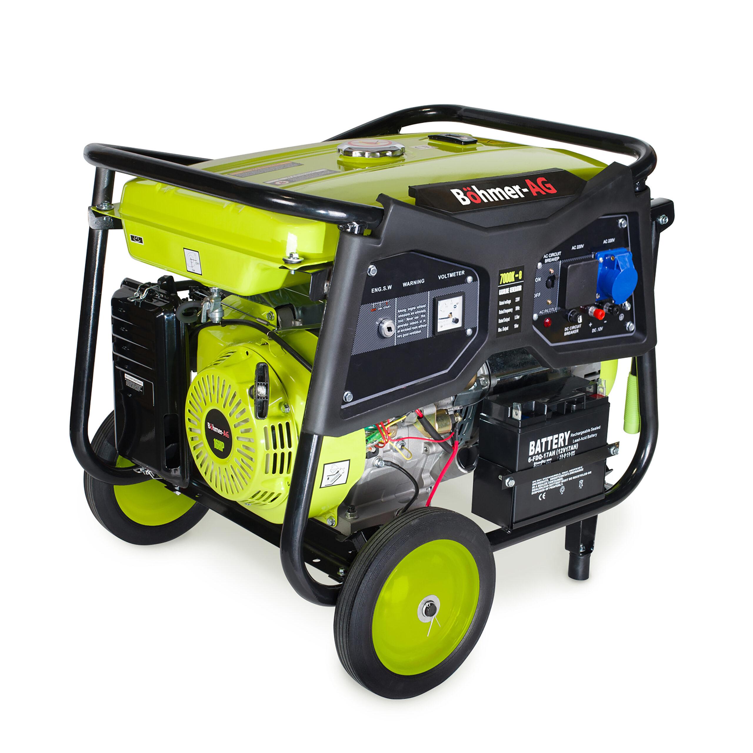 Böhmer-AG  7000-K Portable Generator