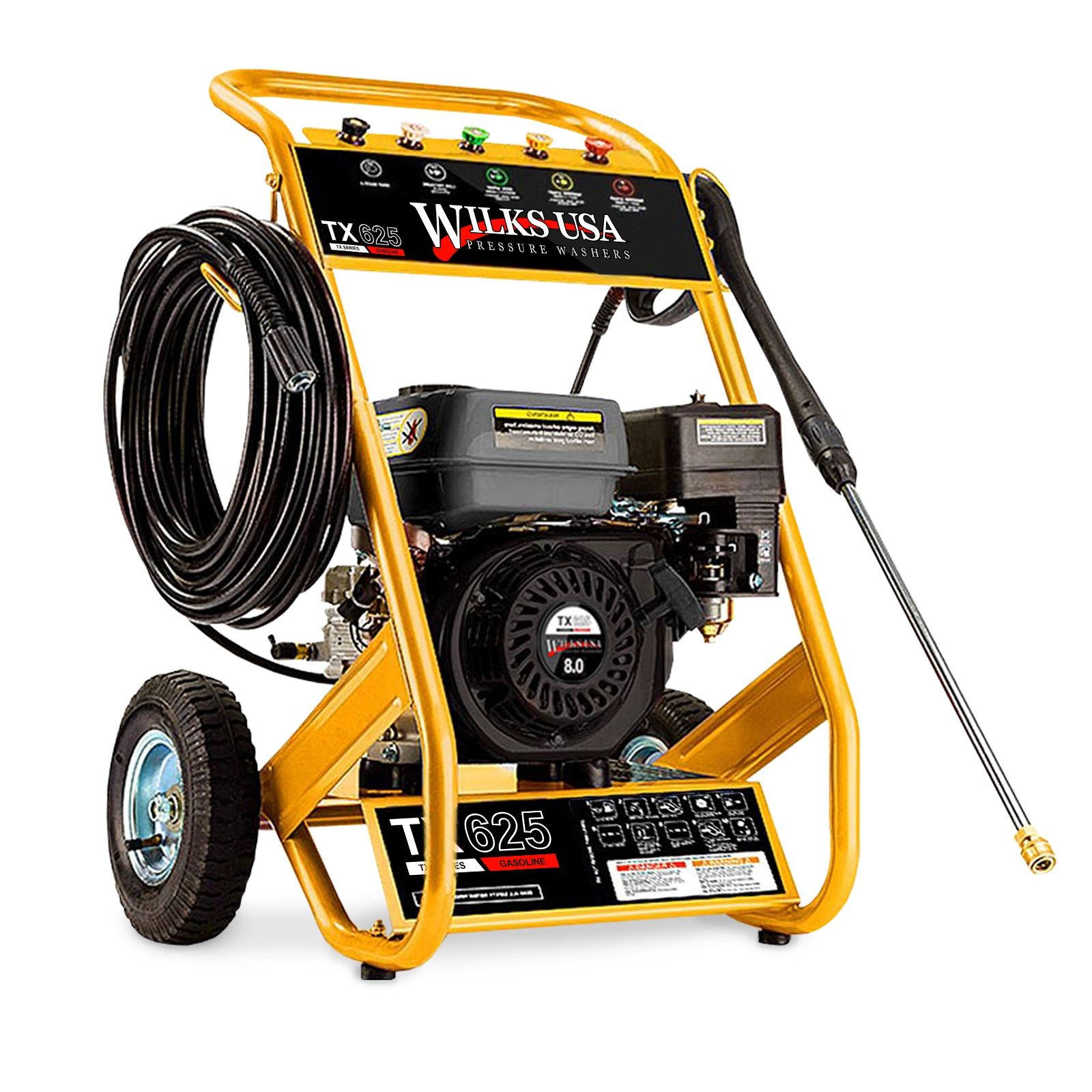 Wilks USA  TX625 Petrol Pressure Washer