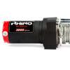 Rhino Winch Co  3,000lb Black ATV Winch Steel Cable