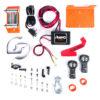 Rhino Winch Co  3,000lb Orange ATV Winch Steel Cable