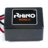 Rhino Winch Co  4,500lb Black ATV Winch Dyneema Synthetic Rope