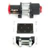 Rhino Winch Co  4,500lb Black ATV Winch  Steel Cable