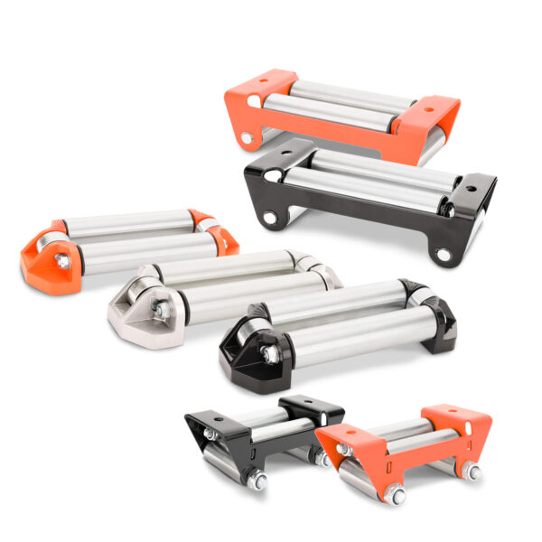 Rhino Winch Co  Winch Fairlead Rollers features